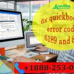 Steps To Fix QuickBooks Accounting Software Error Code 6189