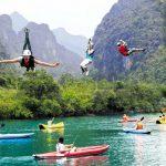 Kayaking In The Wonderful Land Of Vietnam