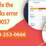 How to fix the Quickbooks error 80070057