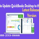 How to update the latest release of QuickBooks Desktop version?