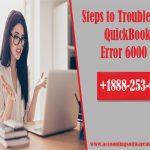 Steps to Troubleshoot QuickBooks Error 6000 83