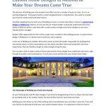 Custom Home Designs in Melbourne Make Your Dreams Come True