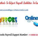 Setup Methods To Adjust Payroll Liabilities In Quickbooks