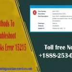 Methods To Troubleshoot Quickbooks Error 15215