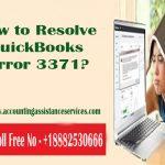 How to Resolve QuickBooks Error 3371?
