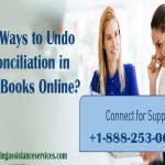 Easy Ways to Undo Reconciliation in QuickBooks Online?