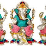 The Charming Ganesha And The Effervescent Saraswati