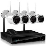 Best Wireless CCTV System for Home with 4 Wireless CCTV Cameras