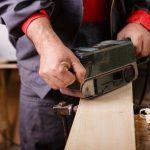 Steps to use a Belt Sander