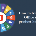 How to fix various Office setup product key errors?