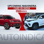 Upcoming cars of mahindra