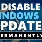 Turn Off Windows Auto Updates