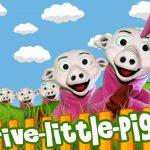 Five Little Piggies Song | Nursery Rhymes & Kids Songs