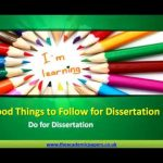 PhD Dissertation Topic Ideas For Variety of Subjects