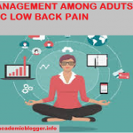 Self-Management Among Adults With Chronic Low Back Pain