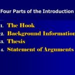 What Are The Four Parts Of An Introduction