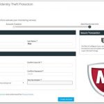 McAfee Identity Theft Protection Sign-up Made Easy