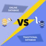Online Database vs Traditional Database