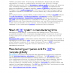 ERP software for chemical industry