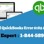 QuickBooks Error 6189 and 816, How to Fix QuickBooks Error 6189 1005