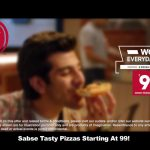 Tastiest Pizzas Starting At Rs. 99