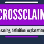 WHAT IS THE DIFFERENCE BETWEEN A CROSS-CLAIM AND A COUNTERCLAIM?