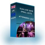Attendees List: Sun Live 2019 Uk & Europe |4,950 Counts- ProDataLabs
