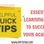 5 Essential Learning Techniques That Allow Students To Succeed
