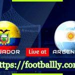 Argentina vs Ecuador Live Streaming – International Friendly