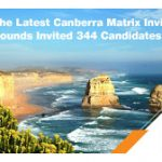The Latest Canberra Matrix Invitation Rounds Invited 344 Candidates