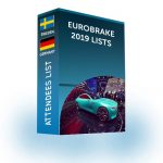 Attendees List: EuroBrake 2019 | 3,500 Contacts for Sweden & Germany