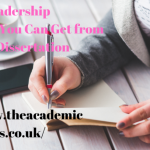 Leadership Styles That You Can Get from Your Dissertation