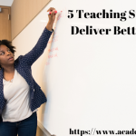 5 TEACHING STRATEGIES TO DELIVER BETTER LECTURES