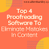 Top 4 Proofreading Software To Eliminate Mistakes In Content