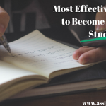 Most Effective Strategies to Become a Brilliant Student
