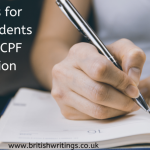 Guidelines For Nursing Students To Write ACPF Dissertation