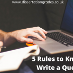 5 Rules to Know How to Write a Query Letter