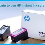 Login To Use HP Instant Ink Services