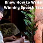 Know How to Write a Winning Speech Essay