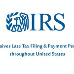 IRS Waives Late Tax Filing & Payment Penalties – Black Ink