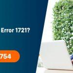 Fix Sage 50 Error 1721