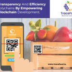 Blockchain in fruit safety gives overall traceability of the package