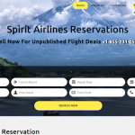 Spirit Airlines Reservations – Book Cheap Flights