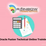 Oracle Fusion Technical Online Training | Rainbow Training Institute