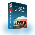 Coverings show 2019 | 25,000 contacts just for $2,500 – Attendees List