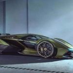 "Lamborghini unveils a powerful concept hypercar for ""virtual driving"""