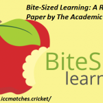 Bite-Sized Learning: A Research Paper by The Academic Papers UK