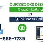 QuickBooks Desktop Cloud Hosting vs QuickBooks Online-1-888-986-7735
