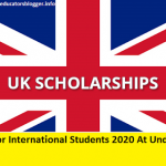UK Scholarships For International Students 2020 At Undergraduate Level