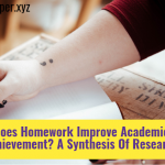 Does Homework Improve Academic Achievement? A Synthesis Of Research
